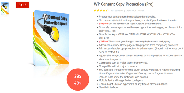 WP Content Copy Protection Pro v9.6