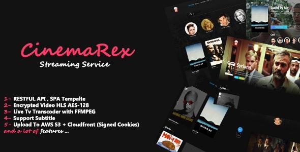 CinemaRex v1.4.9 - Streaming Service