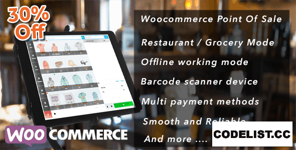 Openpos v4.7.1 - WooCommerce Point Of Sale (POS)