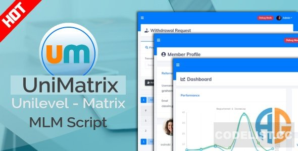 UniMatrix Membership v1.5.0 - MLM Script