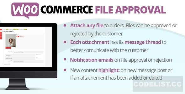WooCommerce File Approval v2.2