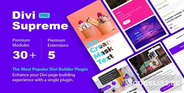 Divi Supreme Pro v3.7.4