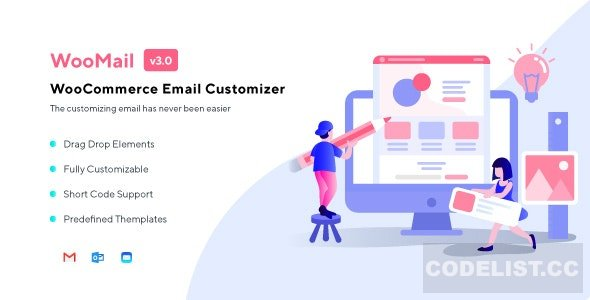 WooMail v3.0.2 - WooCommerce Email Customizer