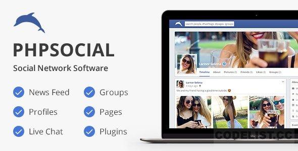 phpSocial v6.8.0 - Social Network Platform - nulled