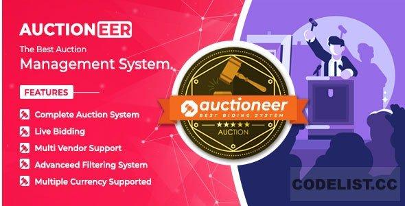 Auctioneer v1.0 - Full Auction management