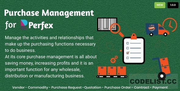 Purchase Management for Perfex CRM v1.0