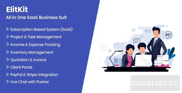 ElitKit v1.5 - All In One SaaS Business Suit