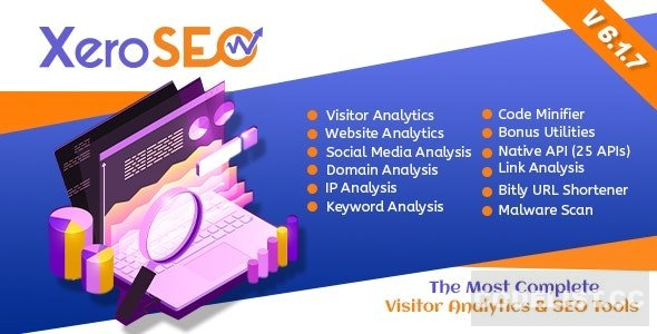 XeroSEO v6.1.7 - The Most Complete Visitor Analytics & SEO Tools