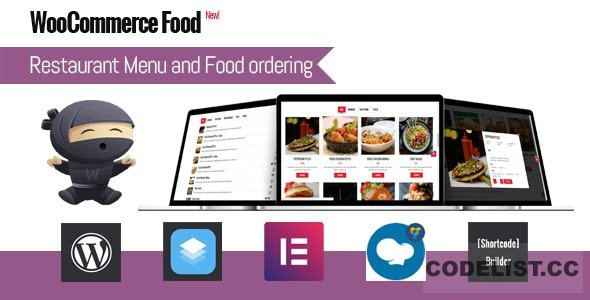 WooCommerce Food v2.3 - Restaurant Menu & Food ordering