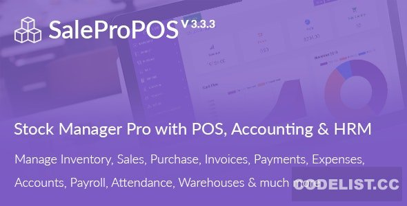 SalePro v3.3.3 - Inventory Management System with POS, HRM, Accounting - nulled