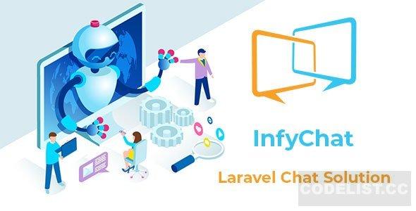 InfyChat v3.3.0 - Laravel Chat App (Private + Group Chat)