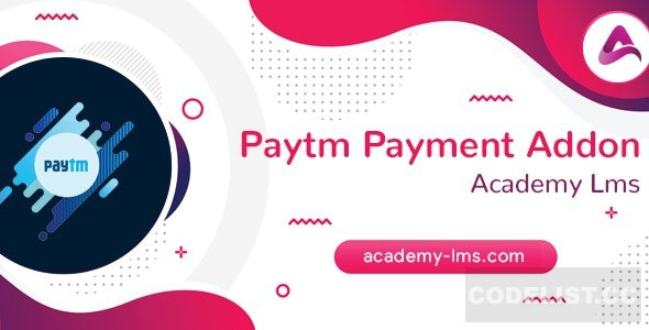 Academy LMS Paytm Payment Addon v1.0