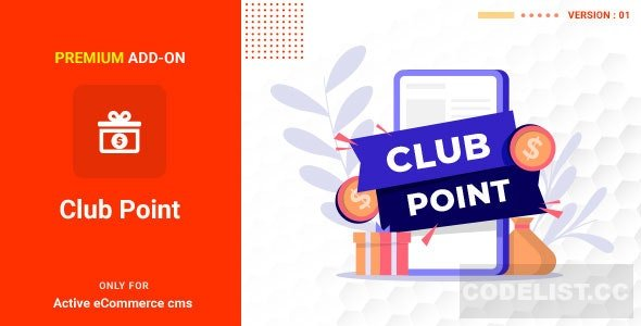 Active eCommerce Club Point Add-on v1.0
