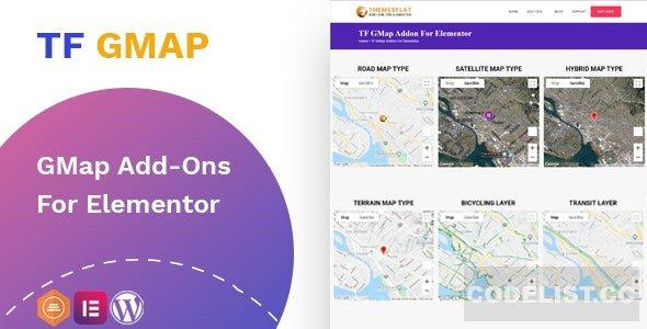 Google Maps addon v1.0.0 - widget for Elementor