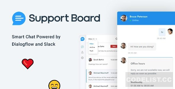 Support Board v3.1.6 - Chat WordPress Plugin - Chat & Support