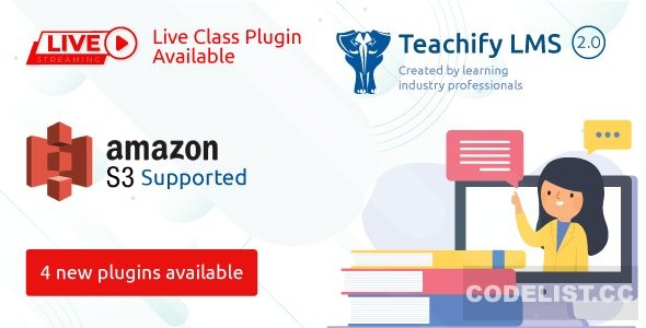 Teachify LMS v2.3.0 – Powerful Learning Management System