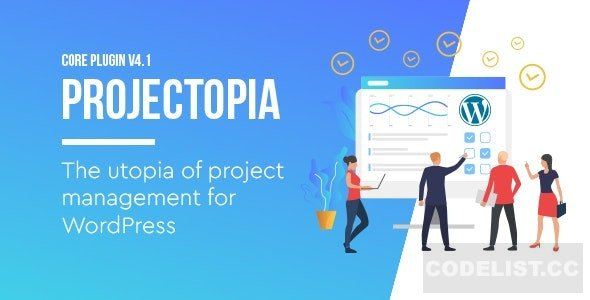 Projectopia v4.3.12 - WordPress Project Management Plugin