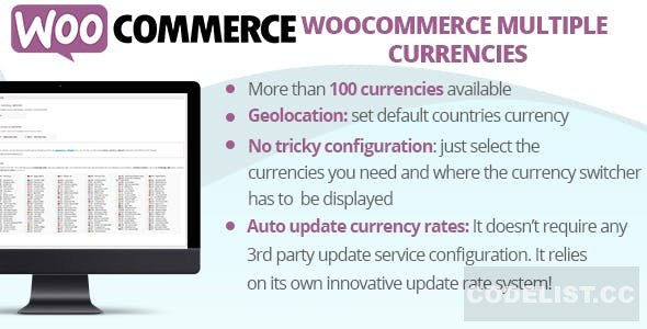 WooCommerce Multiple Currencies v4.7