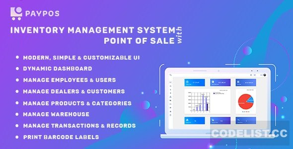 Pay POS v1.0 - Sales and Inventory Management System