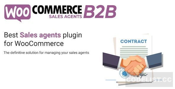 WooCommerce B2B Sales Agents v1.0.5
