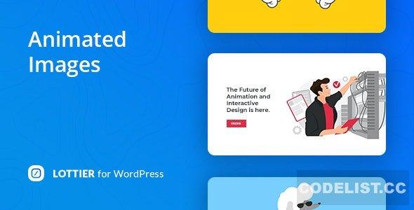 Lottier v1.0.0 - Lottie Animated Images for WordPress Editor