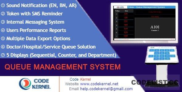 Queue Management System v4.0.0 - nulled