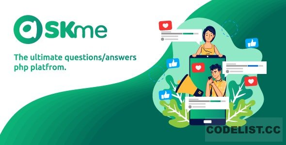 AskMe v1.1 - The Ultimate PHP Questions & Answers Social Network Platform - nulled