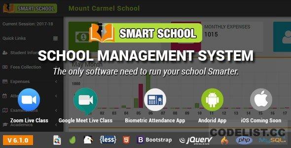 Smart School v6.1.0 - School Management System - nulled