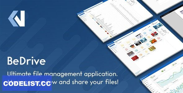 BeDrive v2.2.5 - File Sharing and Cloud Storage