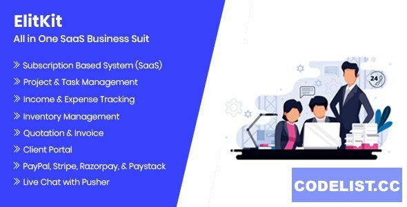 ElitKit v1.9.1 - All In One SaaS Business Suit