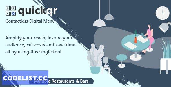 QuickQR v5.8 - Saas - Contactless Restaurant QR Menu Maker - nulled