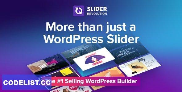 Slider Revolution v6.3.9 - Responsive WordPress Plugin