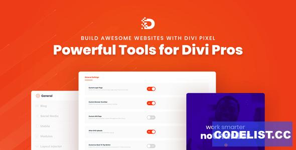 Divi Pixel v1.10.3 - Powerful Tools for Divi Pros