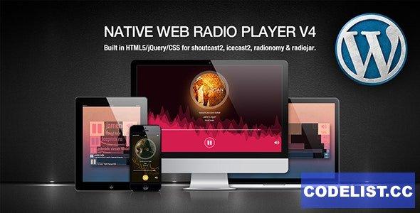 Native Web Radio v5.21.01.28 - Player WordPress Plugin