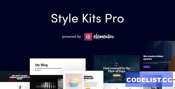 Style Kits Pro v1.1.2 - Get an Unfair Design Advantage in Elementor