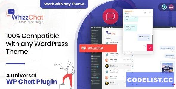 WhizzChat v1.0.5 - A Universal WordPress Chat Plugin