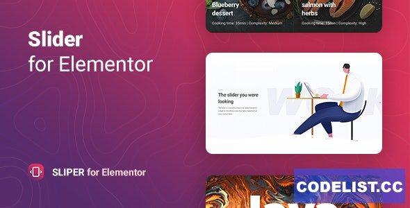 Sliper v1.0.3 - Full-screen Slider for Elementor