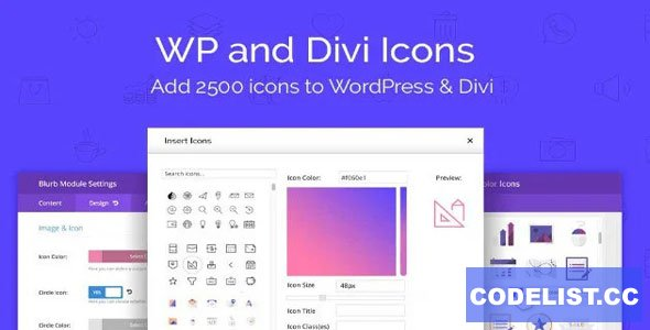WP and Divi Icons Pro v1.2.1