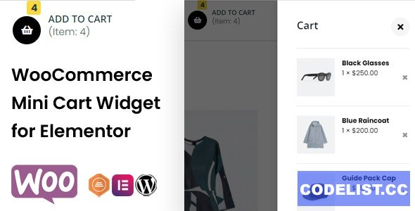 TFMiniCart & Product v1.0.0 - WooCommerce Product, Mini Cart Widget for Elementor