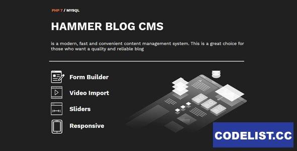 HammerBlog CMS v1.0