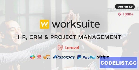 WORKSUITE v4.0.1 - HR, CRM and Project Management
