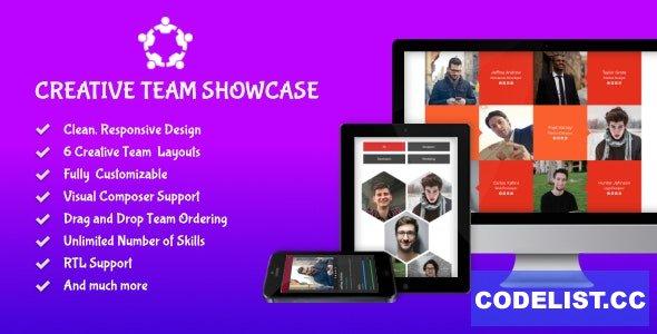 Creative Team Showcase v2.7.0 - Team Showcase Plugin for WordPress