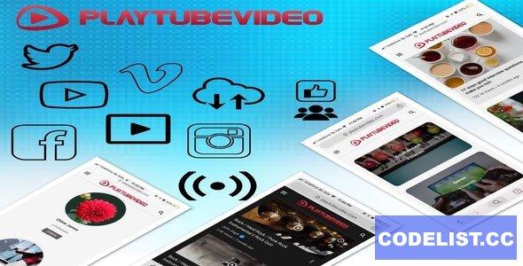 PlayTubeVideo v2.3 - Live Streaming and Video CMS Platform