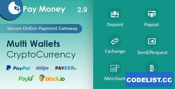 PayMoney v2.9 - Secure Online Payment Gateway - nulled