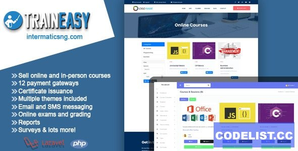 TrainEasy LMS - Training & Learning Management System (16 march 2021)