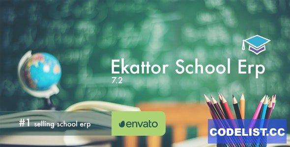 Ekattor School Management System v7.2 - nulled
