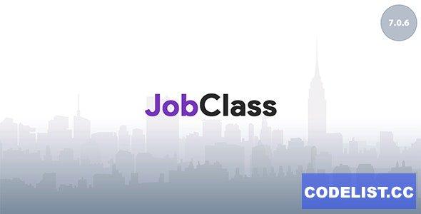 JobClass v7.0.6 - Job Board Web Application - nulled