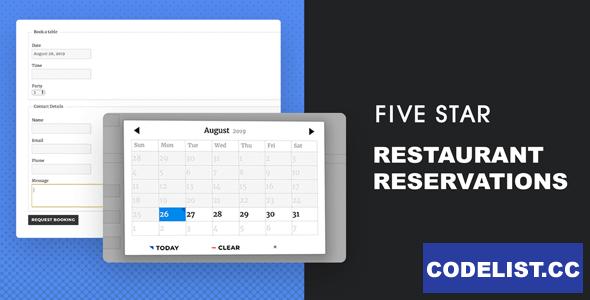 Five Star Restaurant Reservations v2.2.4