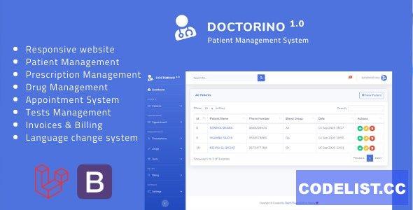Doctorino v1.0 - Doctor Chamber Management System