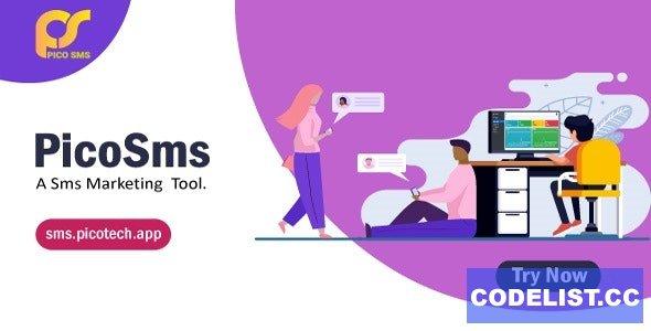 PicoSMS v2.3 - A SMS Marketing Tool